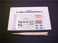F-105D Thunderstick II Kit - Click to Enlarge